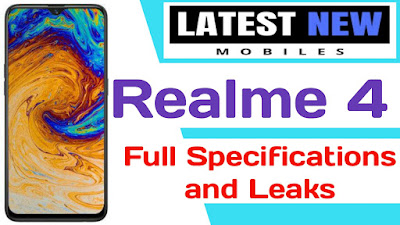 Realme 4 full Specifications