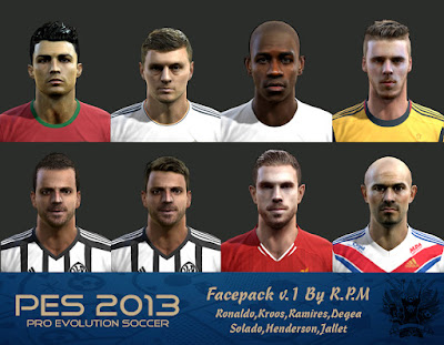 Pes 2013 Facepack v.1 By R.P.M