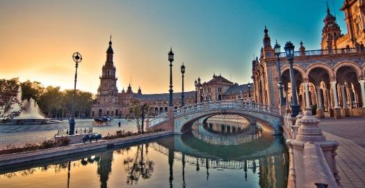 مدينة اشبيلية الاسبانية