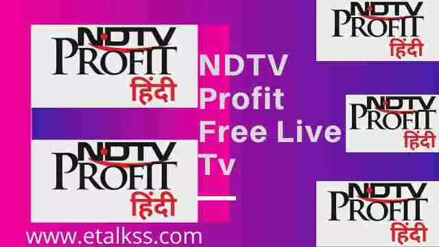 NDTV Profit News update online on the website through free live tv