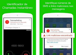 Whoscall é um app gratuito que identifica e bloqueia chamadas indesejadas e que conta com uma base de 700 milhões de telefones no mundo. Para Android, iOS e Windows Phone