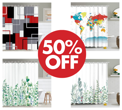 Shower Curtain - 50%OFF!