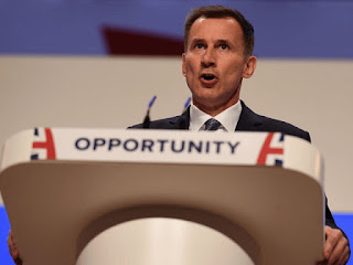 Jeremy Hunt, the British minister responsible for foreign affairs, has ruffled feathers by pointing out the punitive negotiations tactics increasingly employed by the European Union bear striking resemblances to another imperialistic power that at one time aspired to govern European nations, and punished harshly those who wished to leave.