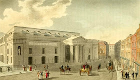 Theatre Royal, Covent Garden, from Ackermann's Repository (1809)