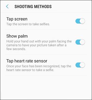 Photo Shooting Method Galaxy S8