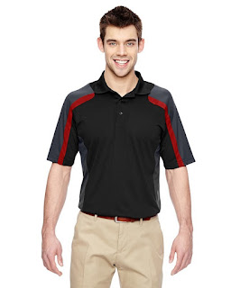 Extreme 85119 Mens Eperformance Strike Colorblock Snag Protection Polo