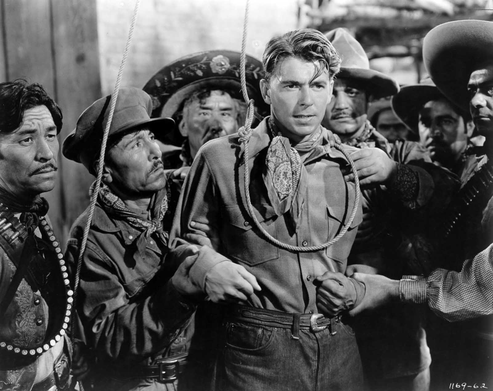 Reagan in The Bad Man. 1941.
