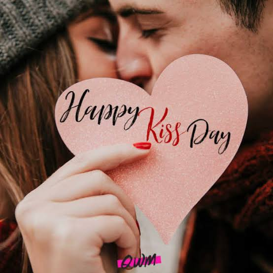 """A """"Kiss"""" is a Special Gift for Girl/Woman on Valentine's Day."""