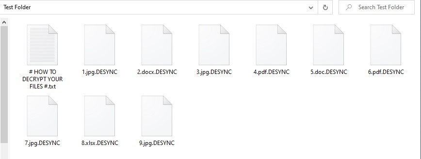 Desync Ransomware