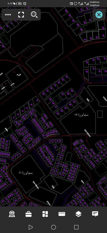 اكبر وادق خريطة لمدينة العاشر من رمضان