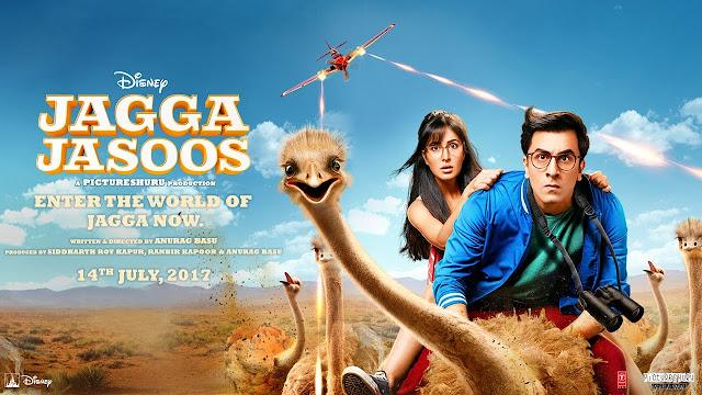 Jagga Jasoos (2017) Hindi Movie Full DVDRip x264