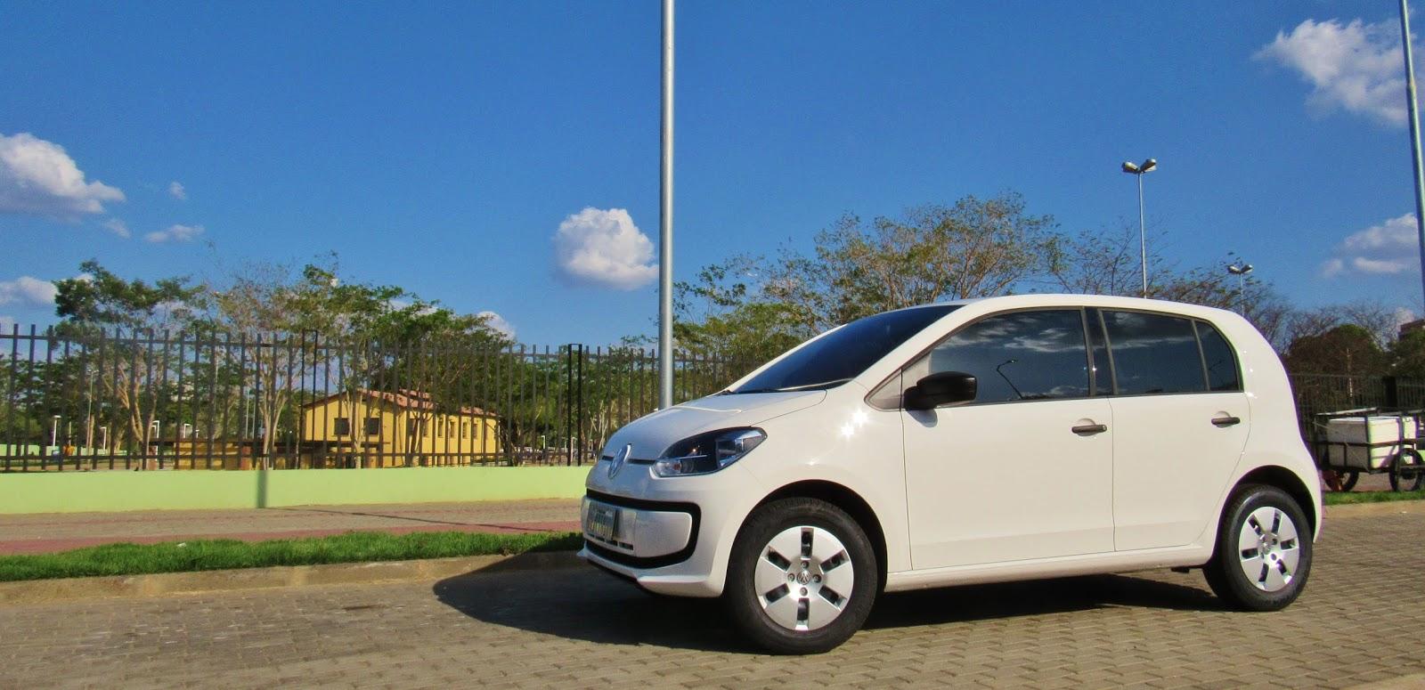 Saiba porque o Volkswagen up! é o compacto mais tecnológico, seguro e econômico do Brasil