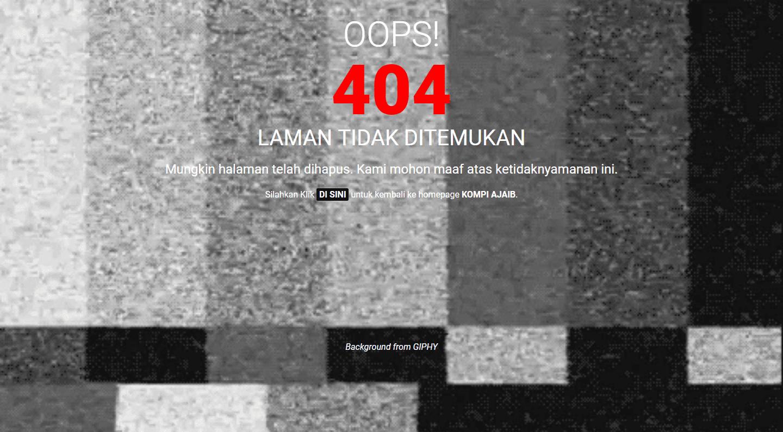 Cara Redirect Otomatis Halaman Error 404 Ke Homepage Dengan Javascript