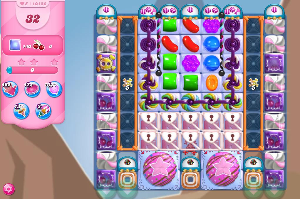 Candy Crush Saga level 10150