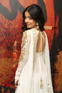 Telugu Actress Mahima Makwana Stills in White Desginer Dress at Venkatapuram Movie Logo Launch  0062.JPG