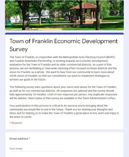 Last chance to reply to the Economic Development Survey
