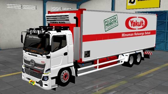 Mod Truck Hino 500 Box Freezer
