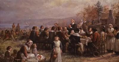 Reuniune de Ziua Recunoștinței - foto preluată de pe wikipedia.com