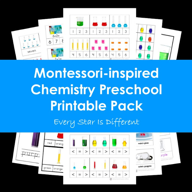 Montessori-inspired Chemistry Preschool Printable Pack