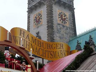 Weihnachtsmarkt Hamburg, Rathaus, Rathausmarkt
