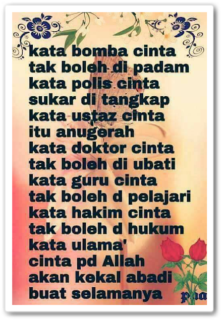 Sumber kredit : Fanpage Facebook Kuliah Cinta Allah