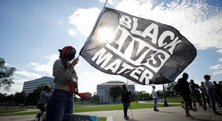 The Black Lives Matter Organization started as a Hashtag before going global