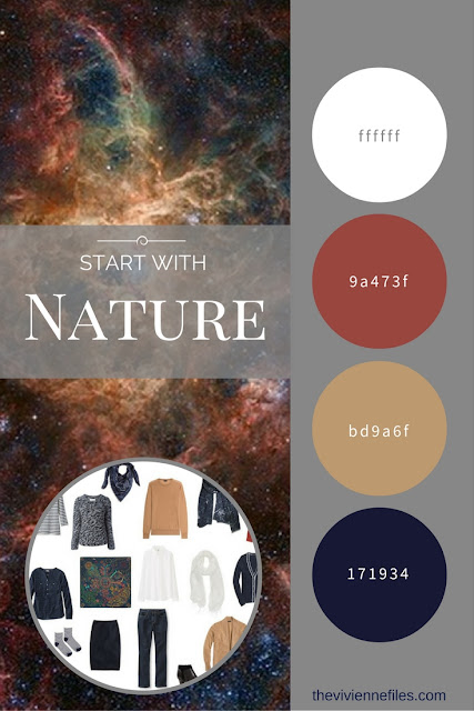 Build a Capsule Wardrobe by Starting with Nature: Tarantula Nebula by Gendler and Colombari
