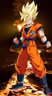 Wallpaper DragonBall Goku super saiyan 1 - blognusa