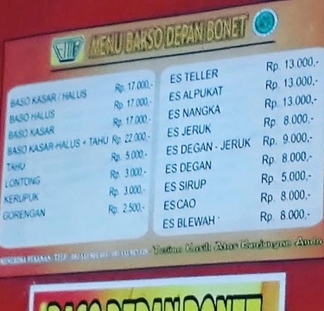Kuliner Surabaya Terkenal, Ya… Bakso Bonnet