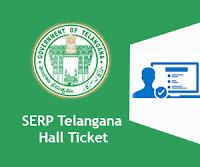 SERP Telangana Hall Ticket