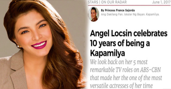 'TFC subscribers, ako po si Angel Locsin' - Angel Locsin Celebrates Her 10th Year Of Being A Kapamilya