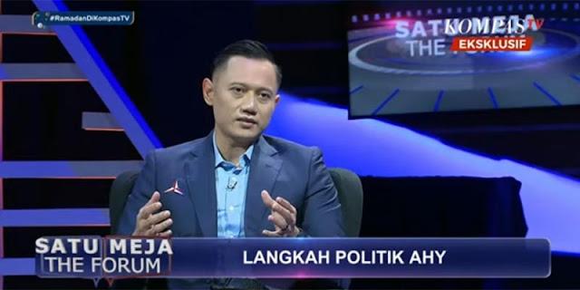 AHY: Moeldoko Yang Harus Minta Maaf Pada Presiden Jokowi