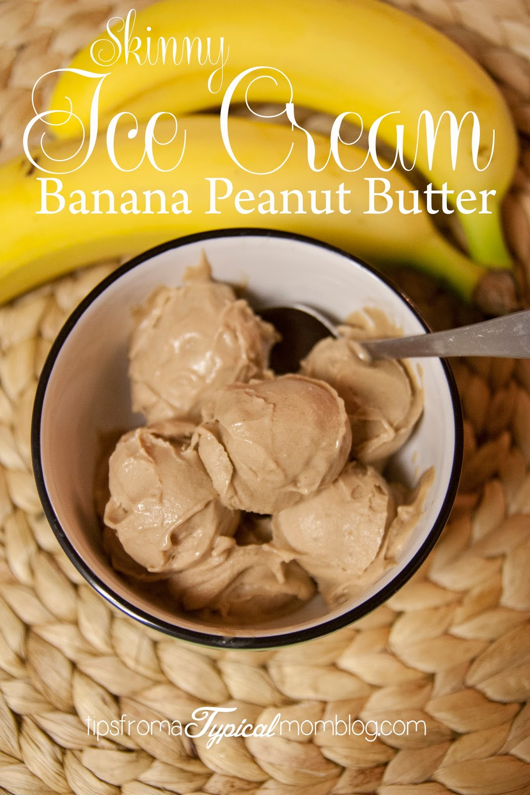 Two ingredient Skinny Banana Peanut Butter Ice Cream - Tips from a ...