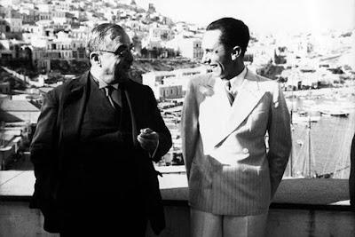 Ο δικτάτορας Μεταξάς με τον Γκέμπελς τον Σεπτέμβριο του 1936