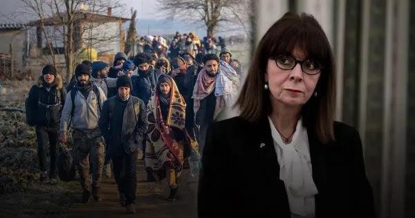 Σακελλαροπούλου: Ζήτησε την «ανανέωση (!) του ελληνικού πληθυσμού με παράνομους μετανάστες»