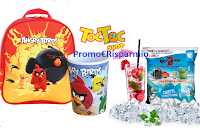 Logo ''Vinci con Angry Birds 2 e Ice Cube'' : 39 Kit Toc Toc Shop e 1 vacanza in Spagna