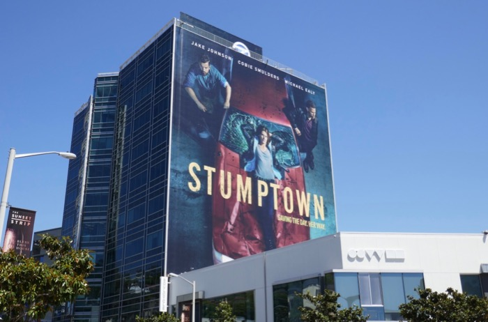 Giant Stumptown series launch billboard