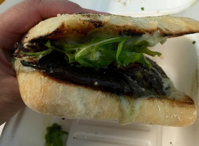 Little Mushroom Co, food truck, mushroom burger