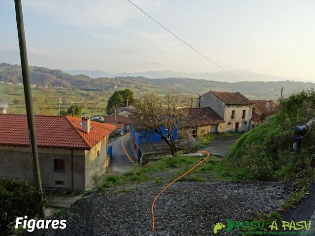 Localidad de Figares en Sariego