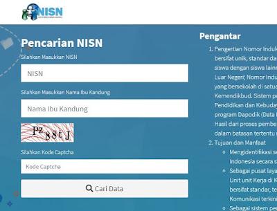 Cara Cek NISN Siswa Secara Online dengan Mudah