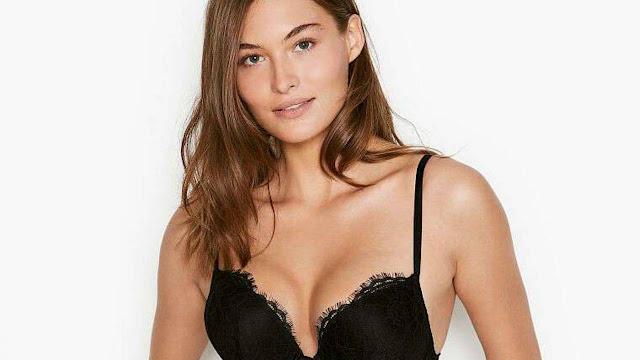 Beautiful model Grace Elizabeth sexy lingerie bras & panties photo