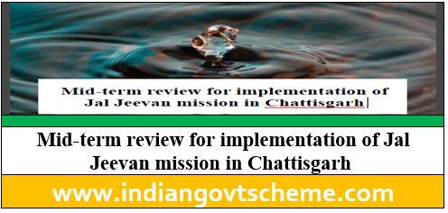 Jal Jeevan mission in Chattisgarh