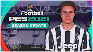 Download eFootball PES 2021 PPSSPP CV3 New Season Update Kits 2022 & Full Transfer