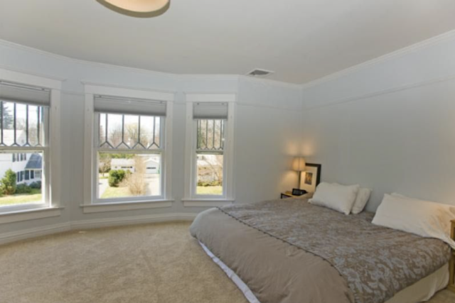 upstairs front bedroom of Sears No 137 at 7 Orchard Street, Mendham, New Jersey