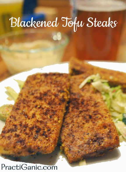 Blackened Tofu Steaks