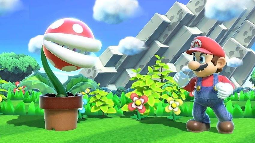 L'aggiornamento di Super Smash Bros. Ultimate aggiunge Piranha Plant.