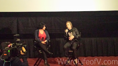 Mark Hamill doing a Q and A before the Kingsman: The Secret Service screening