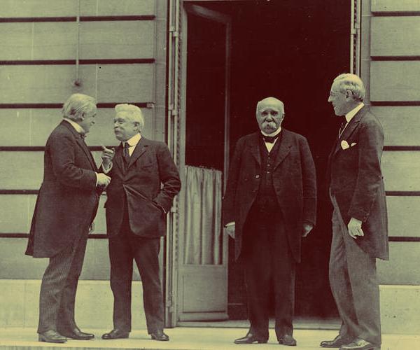 Big Four Perjanjian Versailles, perjanjian versailles, isi perjanjian versailles, tokoh perjanjian versailles,