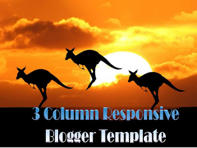 New 3 Column Responsive Blogger Templates