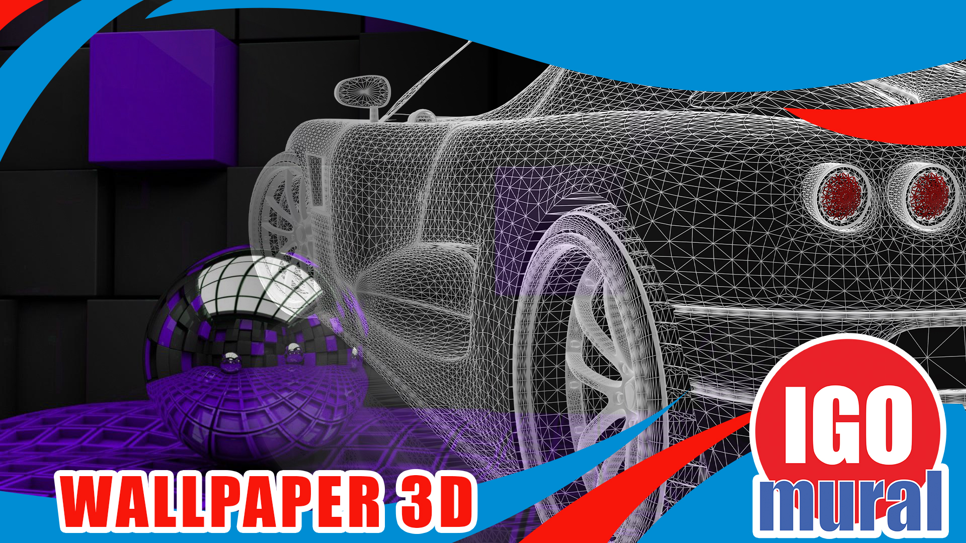 Gambar Wallpaper Dinding 3D